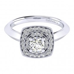 Gabriel 14 Karat Perfect Match Engagement Ring ER001A2AFW44JJ