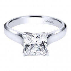 Gabriel 14 Karat Contemporary Engagement Ring ER6578W4JJJ