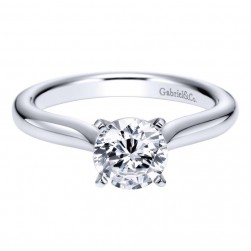 Gabriel Platinum Contemporary Engagement Ring ER6684PTJJJ