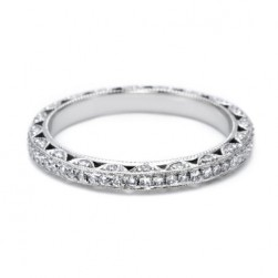 Tacori 2616B Platinum Wedding Band
