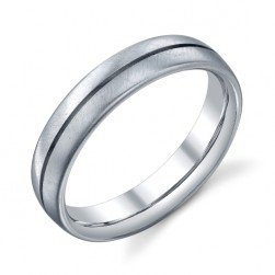 273746 Christian Bauer Platinum Wedding Ring / Band