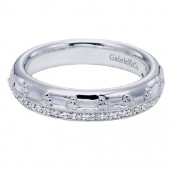 Gabriel 14 Karat Victorian Wedding Band WB6029W44JJ