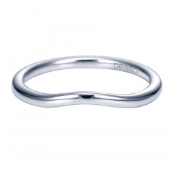 Gabriel 14 Karat Contemporary Wedding Band WB7501W4JJJ