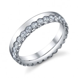 246734 Christian Bauer 14 Karat Diamond  Wedding Ring / Band