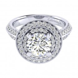 Gabriel 14 Karat Perfect Match Engagement Ring ER002C8AHW44JJ