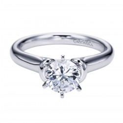 Gabriel Platinum Contemporary Engagement Ring ER6573PTJJJ