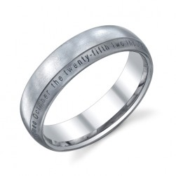 273654 Christian Bauer 14 Karat Wedding Ring / Band
