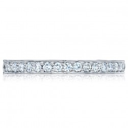 Tacori 2630BLGP 18 Karat Dantela Diamond Wedding Band