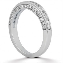 Taryn Collection 14 Karat Wedding Ring TQD B-708