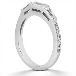 Taryn Collection Platinum Wedding Ring TQD B-0011