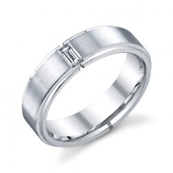 241413 Christian Bauer Platinum Diamond  Wedding Ring / Band