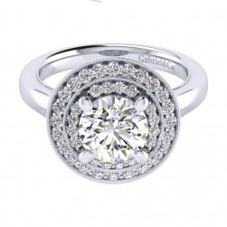 Gabriel 14 Karat Perfect Match Engagement Ring ER009C8AHW44JJ