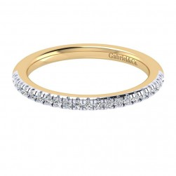 Gabriel 14 Karat Contemporary Wedding Band WB6952M44JJ