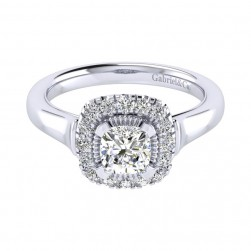 Gabriel 14 Karat Perfect Match Engagement Ring ER009B4AJW44JJ