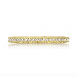 Tacori 2616B12Y 18 Karat Tacori Gold Diamond Wedding Ring