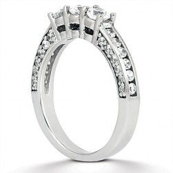 Taryn Collection Platinum Wedding Ring TQD B-1901