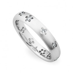 245415 Christian Bauer 14 Karat Diamond  Wedding Ring / Band