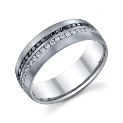 246819 Christian Bauer 14 Karat Diamond  Wedding Ring / Band