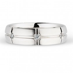 244739 Christian Bauer 14 Karat Diamond  Wedding Ring / Band