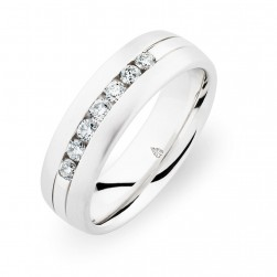244744 Christian Bauer 14 Karat Diamond  Wedding Ring / Band