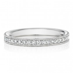 246957 Christian Bauer 14 Karat Diamond  Wedding Ring / Band