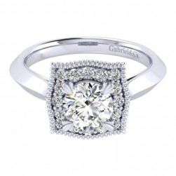 Gabriel 14 Karat Perfect Match Engagement Ring ER001B4AAW44JJ