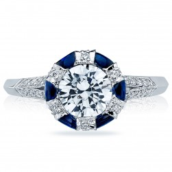 Tacori 2518RD65 18 Karat Simply Tacori Engagement Ring