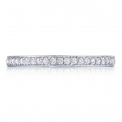 2630BMDP34 Platinum Tacori Dantela Diamond Wedding Ring
