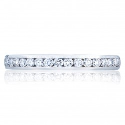2646-25B12 Platinum Tacori Dantela Diamond Wedding Ring