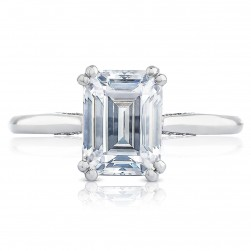 2650EC85X65 Platinum Simply Tacori Engagement Ring