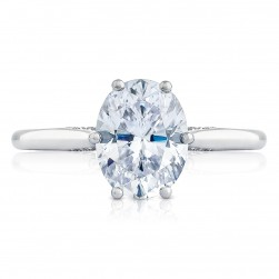 2650OV9X7 Platinum Simply Tacori Engagement Ring