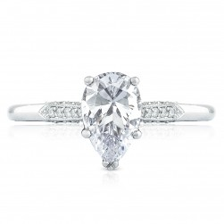 2651PS85X55 Platinum Simply Tacori Engagement Ring