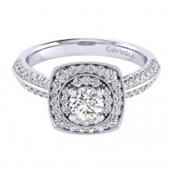 Gabriel 14 Karat Perfect Match Engagement Ring ER002A2AFW44JJ