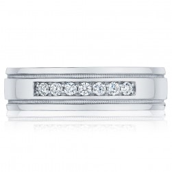 Tacori 110-6D 18 Karat Sculpted Crescent Diamond Wedding Ring