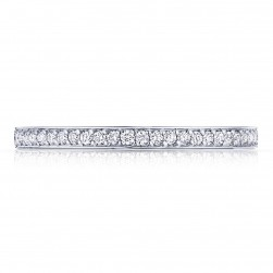 Tacori 2630BSMP34 18 Karat Dantela Diamond Wedding Band