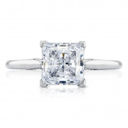 Tacori 2650PR7 18 Karat Simply Tacori Engagement Ring