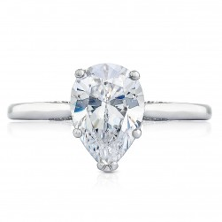 Tacori 2650PS10X7 18 Karat Simply Tacori Engagement Ring