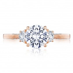 Tacori 2658RD7PK 18 Karat Simply Tacori Engagement Ring