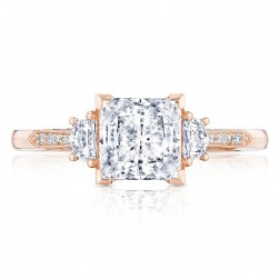 Tacori 2659PR65PK 18 Karat Simply Tacori Engagement Ring