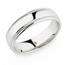 274434 Christian Bauer 18 Karat Wedding Ring / Band