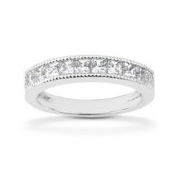 Diamond Channel Set Band Platinum Taryn Collection TQD B-6525