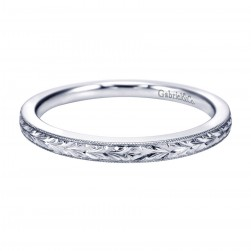 Gabriel Platinum Victorian Wedding Band WB7222PTJJJ