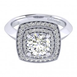 Gabriel 14 Karat Perfect Match Engagement Ring ER001C6AGW44JJ