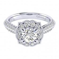Gabriel 14 Karat Perfect Match Engagement Ring ER002B4ACW44JJ