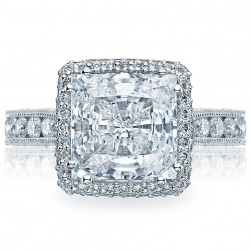 HT2607PR85 Platinum Tacori RoyalT Engagement Ring