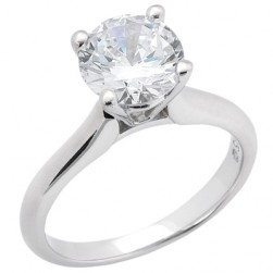 Taryn Collection 14 Karat Diamond Engagement Ring TQD 6566