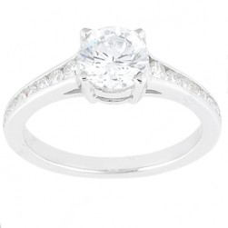 Taryn Collection 18 Karat Diamond Engagement Ring TQD 8388