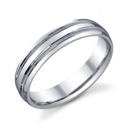 273354 Christian Bauer Platinum Wedding Ring / Band