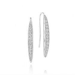 SE201 Tacori Ivy Lane Pavé Surfboard Drop Earrings