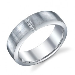 244593 Christian Bauer Platinum Diamond  Wedding Ring / Band